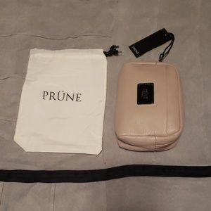 NWT Leather travel makeup bag